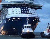 El crucero Celebrity Edge finaliza las pruebas de mar