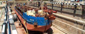 Astilleros del Guadalquivir acomete la reparación de la draga Trud R