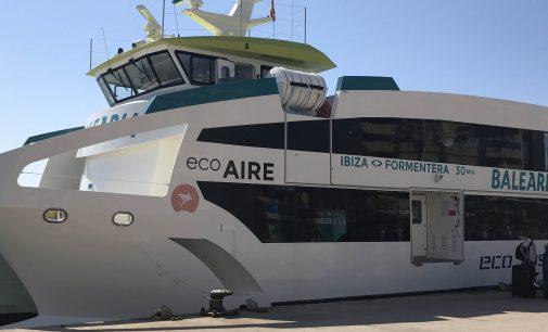 Los cuatro eco fast ferries de Baleària ya están operando