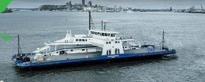 Primer ferry norteamericano de clase hielo y propulsión LNG
