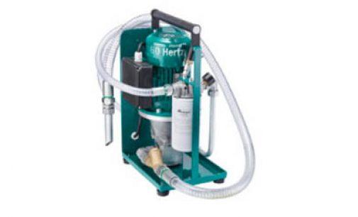 Unidad de filtrado portátil para el sistema hidráulico de un barco