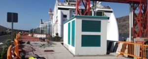 Cold ironing en el puerto de La Gomera