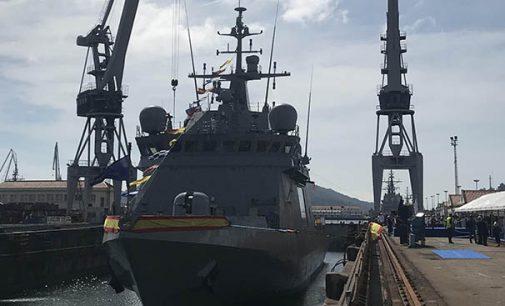 Navantia celebra el amadrinamiento del BAM Furor para la Armada Española