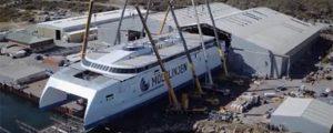 Avanza la construcción del ferry catamarán Express 4