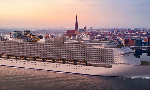 Puesta de quilla del primer buque de la clase Global de Dream Cruises