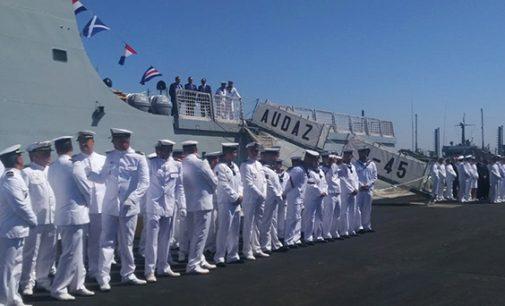 Navantia entrega a la Armada Española el BAM Audaz