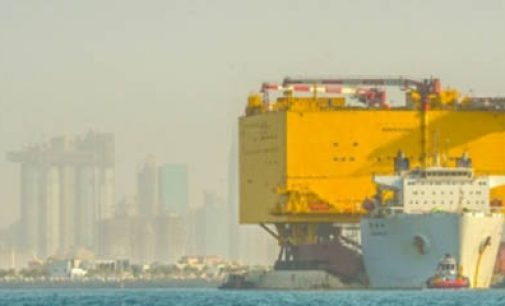 La plataforma offshore BorWin Gamma finaliza su construcción