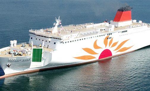 MOL comienza a operar su nuevo ferry, el Sunflower Kirishima
