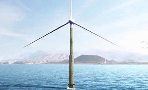 Torre eólica offshore pionera en el mundo