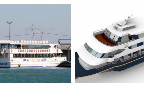 Oliver Design remodelará un ferry en crucero de lujo