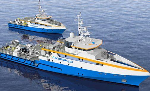 Nuevo diseño de buques cazaminas no tripulados