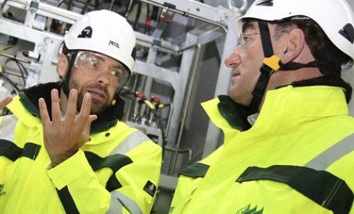Iberdrola inaugura el parque eólico marino Wikinger