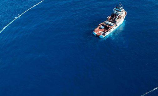 Maersk brinda apoyo marítimo para limpiar el vertedero de plástico más grande del Pacífico