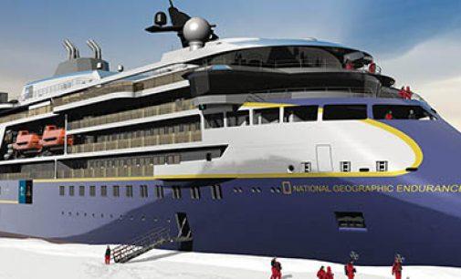 Así será el crucero de expedición polar National Geographic Endurance
