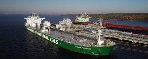 El primer petrolero Aframax a LNG completa su primer viaje