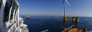 Bourbon instalará los primeros aerogeneradores offshore flotantes de Portugal