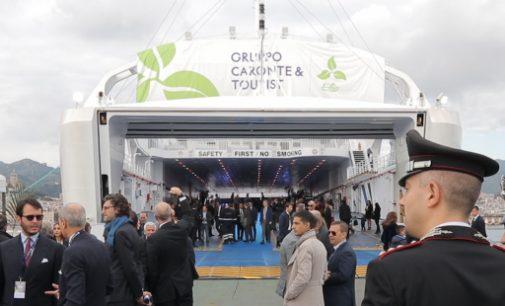 Entrega del ferry ecológico a GNL Elio