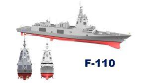 El Gobierno aprueba la construcción de 5 fragatas F-110