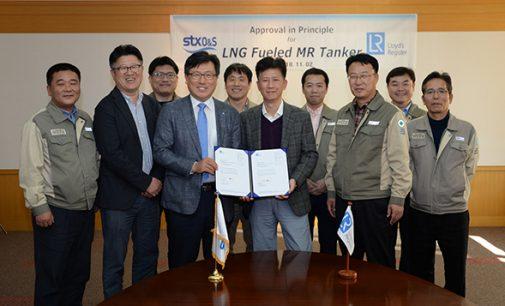 STX recibe la AiP de Lloyd's Register de su diseño de petrolero a GNL