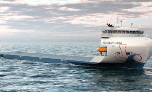 HeavyLift@Sea presenta su nuevo diseño de buque heavy lift