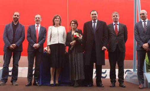 Navantia celebra en Puerto Real la ceremonia de entrega y amadrinamiento del petrolero
