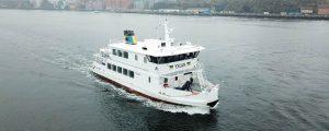 Yxlan, primer ferry clase hielo de la sueca Waxholmsbolagets