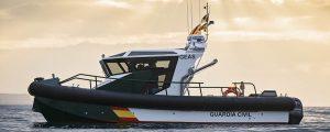 Aister entrega barcos de aluminio para la Guardia Civil
