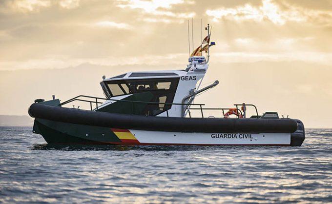 Barcos de aluminio para la Guardia Civil construidos por Aister