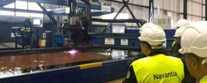Navantia inicia la construcción de la primera corbeta para Arabia Saudí