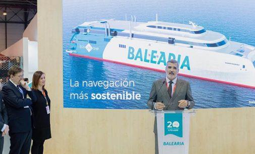 El nuevo smart fast ferry de Baleària se llamará Eleanor Roosevelt