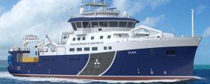 Armón construye un oceanográfico sueco de gran capacidad investigadora