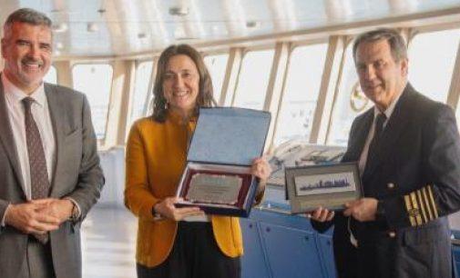 Comienza a navegar el Hypatia de Alejandría, el primer ferry propulsado por LNG del Mediterráneo