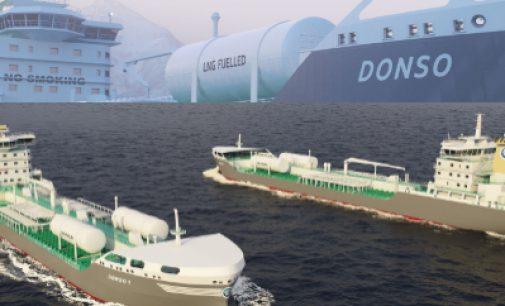 Donsötank encarga dos nuevos buques a GNL