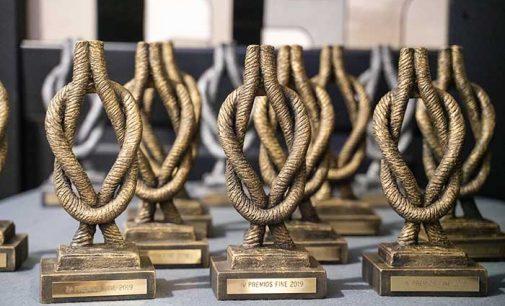 Entrega de los premios FINE