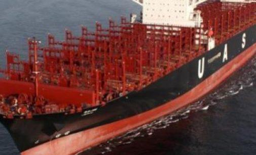 El portacontenedores Sajir de 15.000 teu, el primer ULCV en reconvertirse al LNG