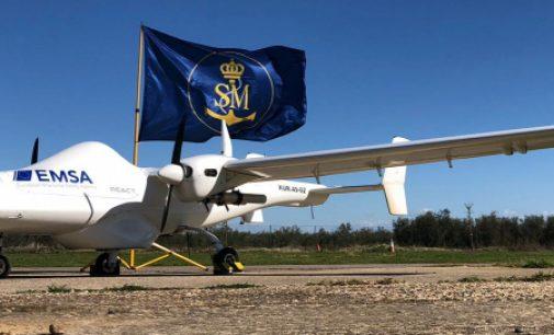 SASEMAR realiza los primeros vuelos de vigilancia con el dron de EMSA