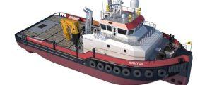 Firmado un nuevo buque offshore para aguas poco profundas con DP-2