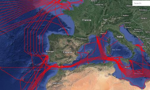 EMODnet: Nueva información sobre el tráfico marítimo europeo