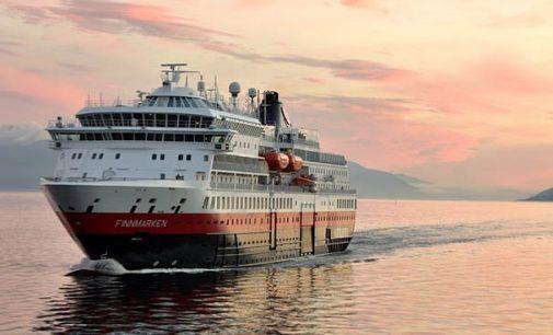 Hurtigruten renueva la imagen de su buque MS Finnmarken