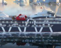 Vídeo de la botadura del crucero de expedición MV Magellan Explorer
