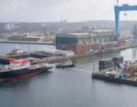 Flotado el primer buque de exploración propulsado por LNG