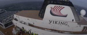 Así fue la evacuación en helicóptero del Viking Sky