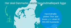 Thor, el mayor parque eólico marino de Dinamarca