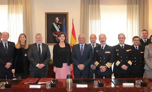 Navantia firma la Orden de Ejecución de las fragatas F-110 con el Ministerio de Defensa