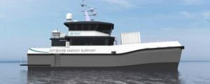 Se firma un nuevo catamarán de diseño único para apoyo en alta mar