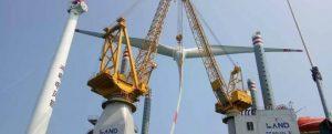 Huadian Wenqiang instala su primer aerogenerador