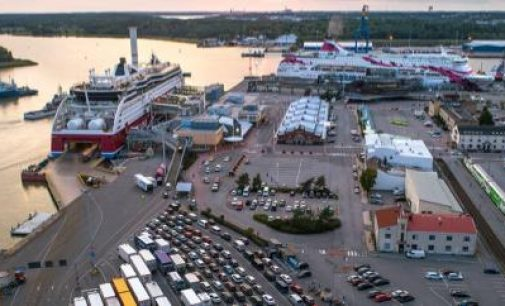 El puerto finés de Turku amplía su capacidad ro-pax para 2025