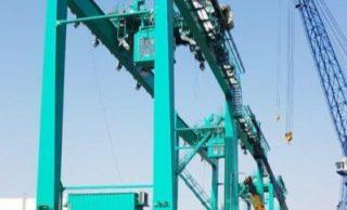 Los puertos chinos se actualizan con grúas híbridas eléctricas