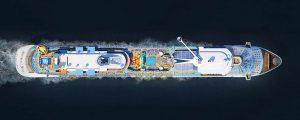 Entrega del Spectrum of the Seas
