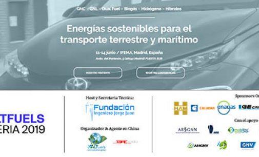 La Fundación Ingeniero Jorge Juan anfitriona y secretaría técnica de la Feria de combustibles alternativos Altfuels Iberia